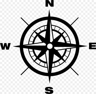 North Cardinal direction Compass   compass png download   980*958 ...