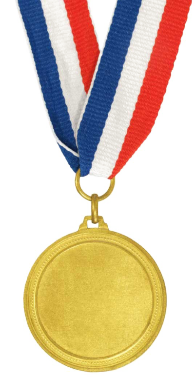 Gold Medal PNG HD