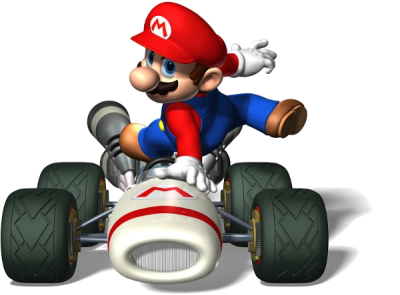 Super Mario Kart Transparent PNG