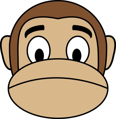 Face Monkey · Free vector graphic on Pixabay