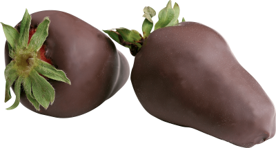 Strawberry In Chocolate Png Image