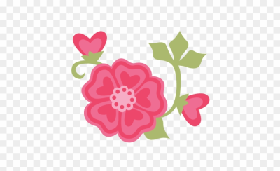Valentine Flowers Svg Cut Files For Scrapbooking Cardmaking   Cute ...