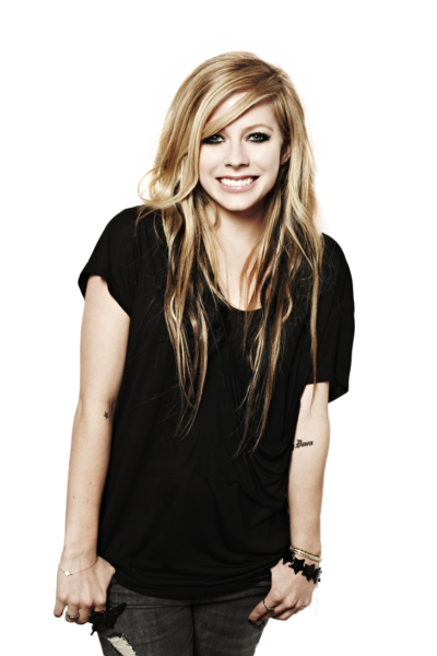 Avril Lavigne PNG File
