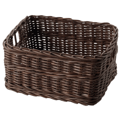 dark-brown-ikea-basket