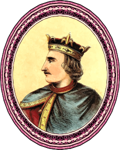 King Henry I (framed)