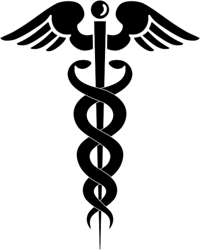 Doctor Symbol Caduceus Transparent