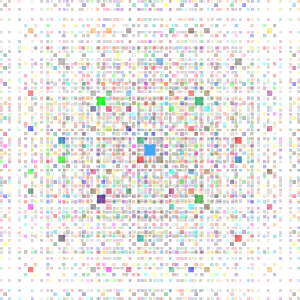 Colorful Square Fractal