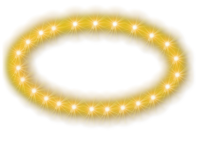 Glowing Halo Transparent Background