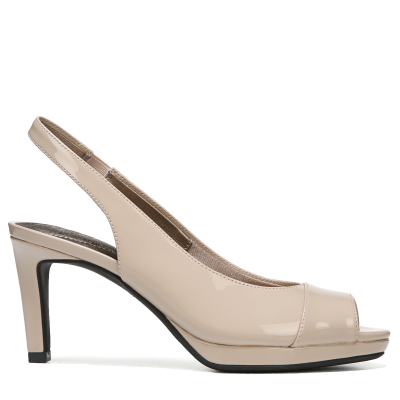 Satin Sandal Transparent
