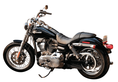 black-harley-davidson-motorcycle-bike