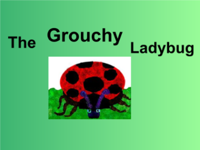 SMART Exchange   USA   Grouchy Ladybug