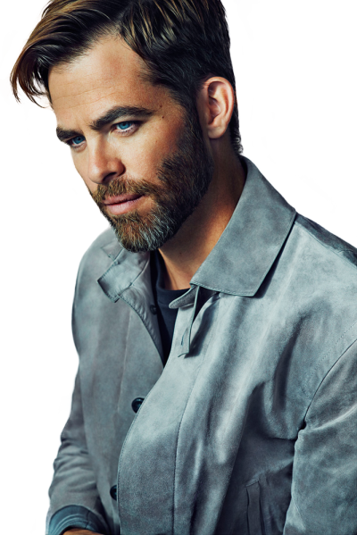 Chris Pine PNG HD