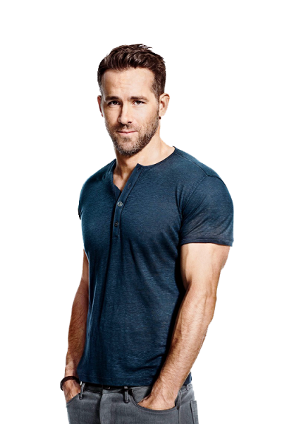 Ryan Reynolds PNG File