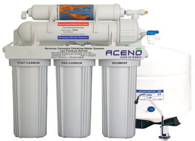 Domestic Reverse Osmosis System Transparent Background