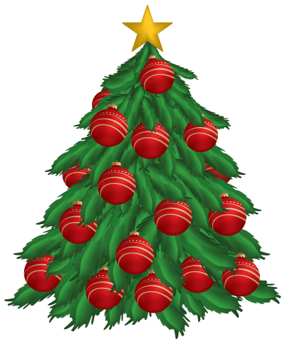 christmas-tree-with-red-christmas-ornaments