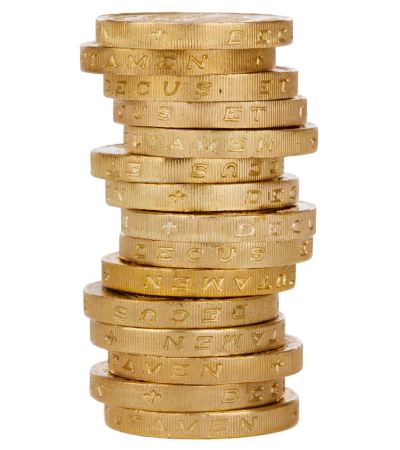 Coin Stack PNG HD
