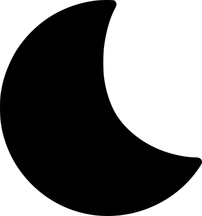 Half Moon PNG File HD