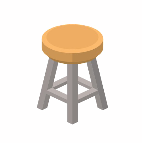 Stool HD Free Clipart HQ