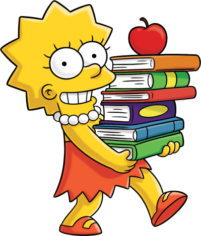 background-Simpsons-transparent-Lisa-Simpson