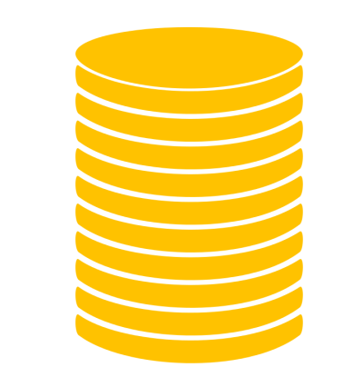 Coin Stack Transparent PNG