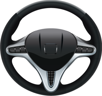 Honda Steering Wheel Vector Clip Art
