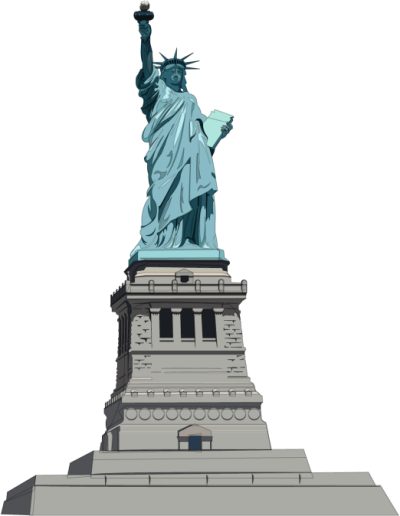 Statue of Liberty PNG Transparent Image