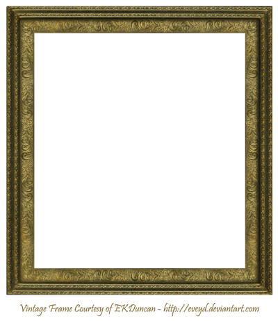 Square Frame PNG Transparent Image
