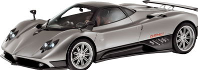 Pagani Transparent Picture