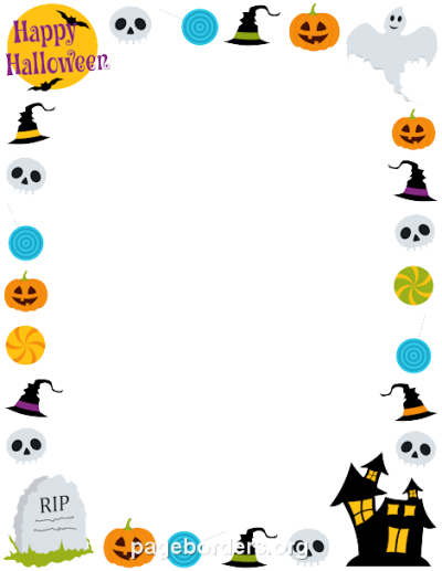 Halloween Border Transparent
