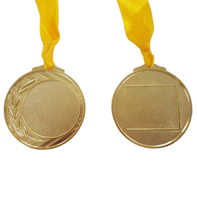 Gold Medal Image PNG Free Photo