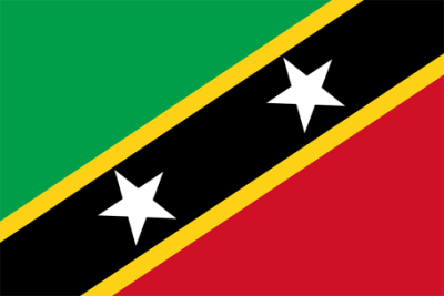 Saint Kitts And Nevis Flag Png Image