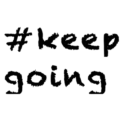 Keep Going PNG Download Free