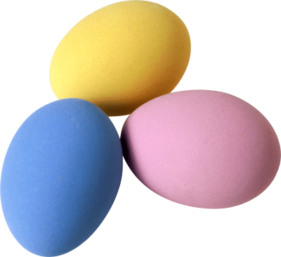 Colorful Eggs Png Image