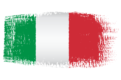 italian-flag-brush-effect