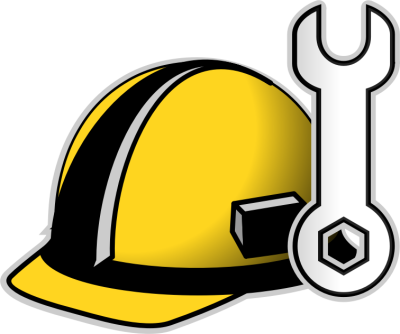 Engineer Helmet PNG Clipart