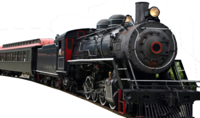 background-steam-Train-transparent