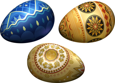 Colored Eggs Png Image