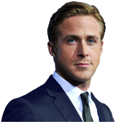 Ryan Gosling Transparent Background