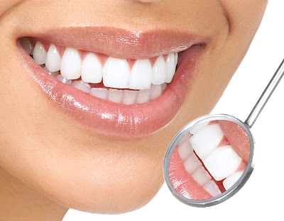 White Teeth Transparent Background