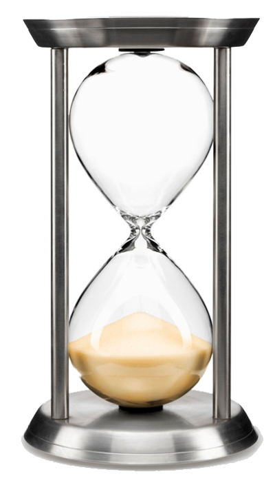Hourglass Transparent Background