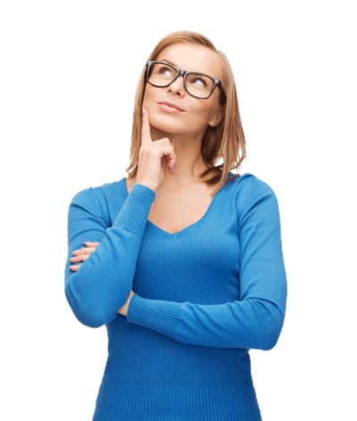 Thinking Woman PNG Photos