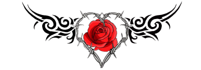 Rose Tattoo Png Image