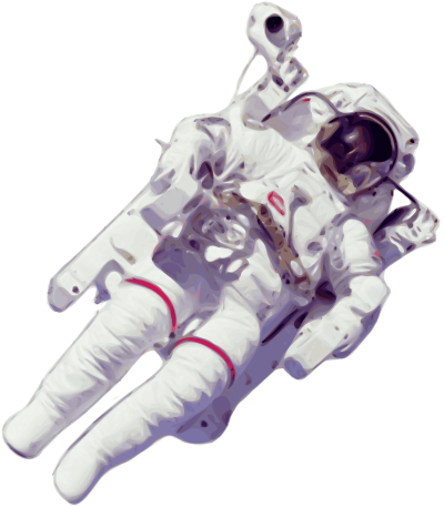 Astronaut Transparent Background