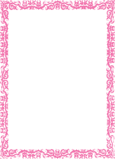 Pink Border Frame Photos