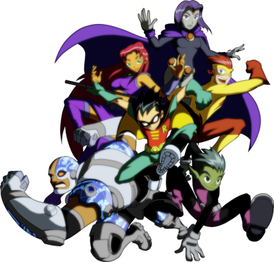 Teen Titans Transparent