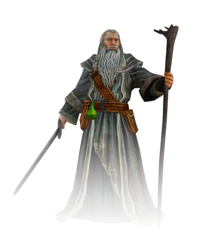 Gandalf Transparent Background