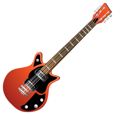 background-Electric-transparent-guitar