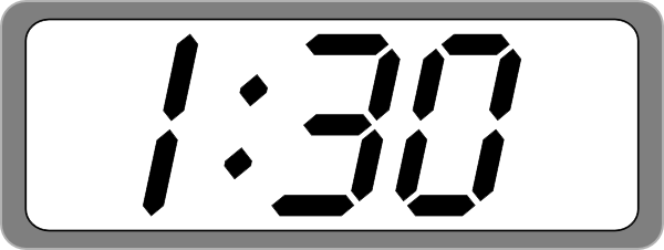 Download Free png Digital Clock - DLPNG com