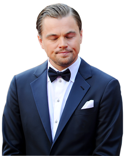 Leonardo Dicaprio Transparent Background