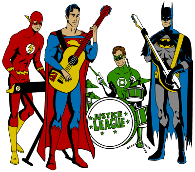 Rock Band PNG Clipart